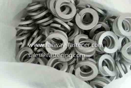 Circle Point Double Coil Spring Washer