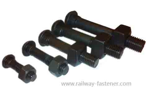 Diamond neck track bolt