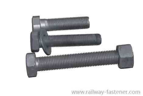 Flanged head bolts